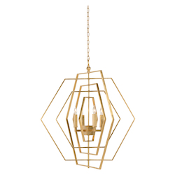 Hexagon Chandelier