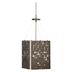 City Lights Pendant - Bronze