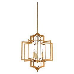 Dover Chandelier - Gold