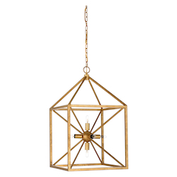 Portsmith Chandelier - Gold