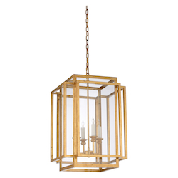 Amherst Chandelier - Gold