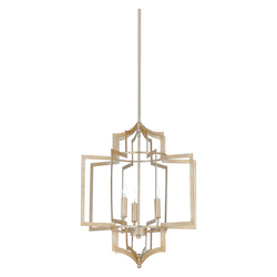 Dover Chandelier - Silver