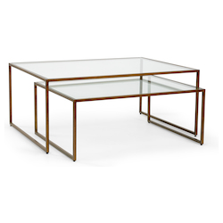 Nesting Coffee Table - Bronz