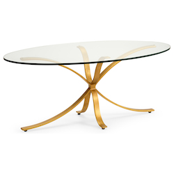London Coffee Table - Gold