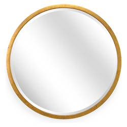 Wildwood 382449 Large Round Mirror - Gold