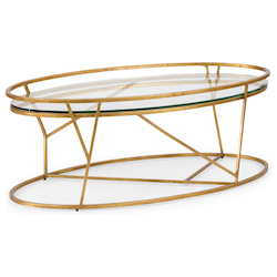 Mason Cocktail Table - Gold