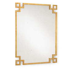 Wildwood 382296 Parquetry Mirror - Gold