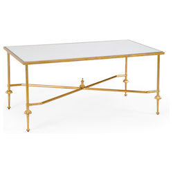 French Cocktail Table-Gold