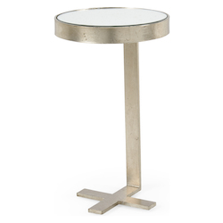 Mitchell Side Table - Silver