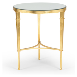 Round Regent Table-Gold