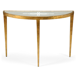 Celtic Knot Console - Gold