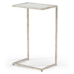 Matteson Side Table Silver