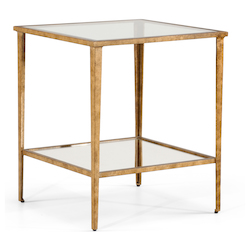 Carson End Table Gold