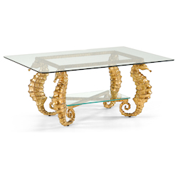 Seahorse Coffee Table-Gold