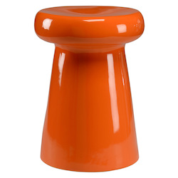 Mushroom Stool-Orange