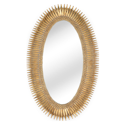 Wildwood 300852 Lucius Mirror - Gold