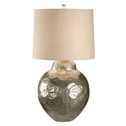 Crinkle Dimple Lamp