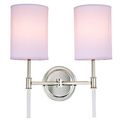 Hudson Two Light Wall Sconce