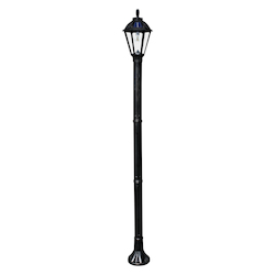 Polaris Solar Lamppost - Black