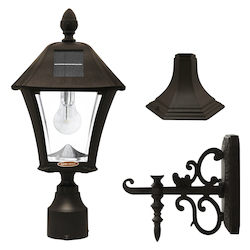 Baytown Bulb Solar Lamp - Wall/Pier/3