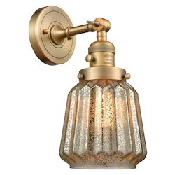 Innovations Lighting 203SW-BB-G146 1 Light Sconce With A