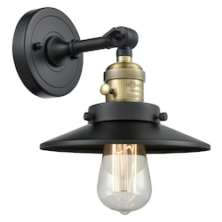 Innovations Lighting 203SW-BAB-M6 1 Light Sconce With A
