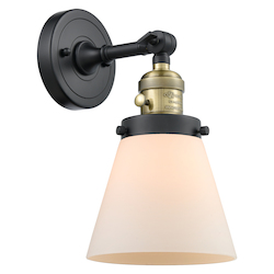 Innovations Lighting 203SW-BAB-G61 1 Light Sconce With A