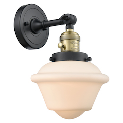 Innovations Lighting 203SW-BAB-G531 1 Light Sconce With A