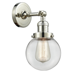 Innovations Lighting 203-PN-G202-6 1 Light Sconce