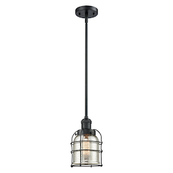 Innovations Lighting 201S-BK-G58-CE-LED 1 Light Vintage Dimmable Led Mini Pendant