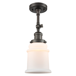 Innovations Lighting 201F-OB-G181 1 Light Semi-Flush Mount