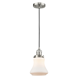 Innovations Lighting 201C-SN-G191 1 Light Mini Pendant