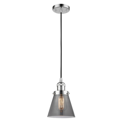 Innovations Lighting 201C-PC-G63-LED 1 Light Vintage Dimmable Led Mini Pendant