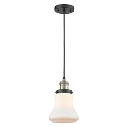 Innovations Lighting 201C-BAB-G191-LED 1 Light Vintage Dimmable Led Mini Pendant