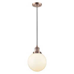 Innovations Lighting 201C-AC-G201-8 1 Light Mini Pendant