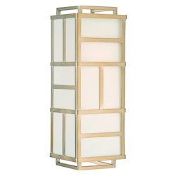 Crystorama DAN-402-VG Libby Langdon For Danielson 4 Light Vibrant Gold Wall Mount