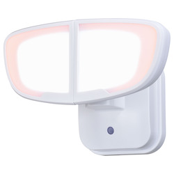 Vaxcel International T0414 Omicron 2L Led Dusk-To-Dawn Security Light