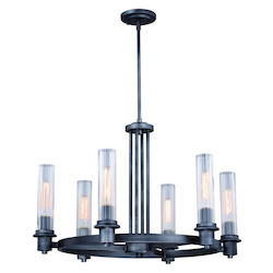 Vaxcel International H0227 Astor 6 Light Chandelier