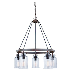 Vaxcel International H0198 Milone 5L Chandelier
