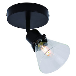 Vaxcel International C0210 Fulton 1 Light Directional Light