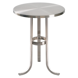 Kenroy Home 65069BS Metal Accent Table