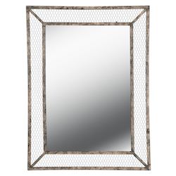 Kenroy Home 60457WB Rectangle Mirror