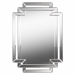 Kenroy Home 60422 Mirror With Beveled Mirror Frame