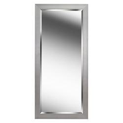 Kenroy Home 60359 Beveled Mirror W/Brushed Steel Finish Frame