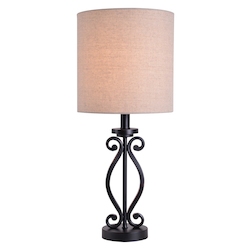 Kenroy Home 33346BL Table Lamp