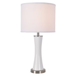 Kenroy Home 33253WH Accent Lamp