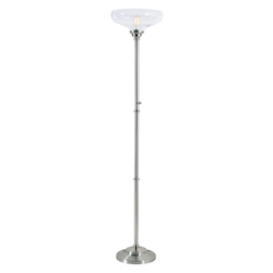 Kenroy Home 33208BS Torchiere Floor Lamp
