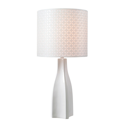 Kenroy Home 33175WH Table Lamp