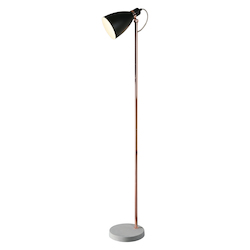 Kenroy Home 33170BLCOP Floor Lamp