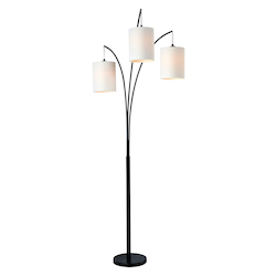Kenroy Home 32849BL Arc Floor Lamp